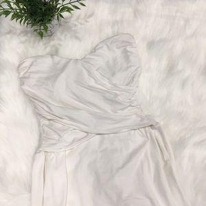 VS strapless dress